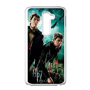 Deathly Hallows LG G2 Cell Phone Case White gift pp001_6235669