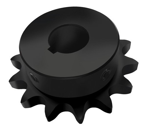 PEER Chain PC60B13HF X7/8-FB - 43858 Stock Bore Sprocket - 60/3/4 in, Finished with Keyway, 13 Teeth, 7/8 in, -