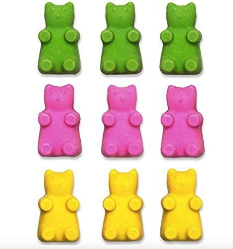 Hornear de osito, ideal para Baby Shower Supplies - Puede hacer Candy moldes, Chocolate Moldes y mucho más - Bandeja de silicona puede contener hasta 50 ...