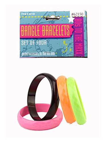 Forum Novelties 80's Bracelet Set -