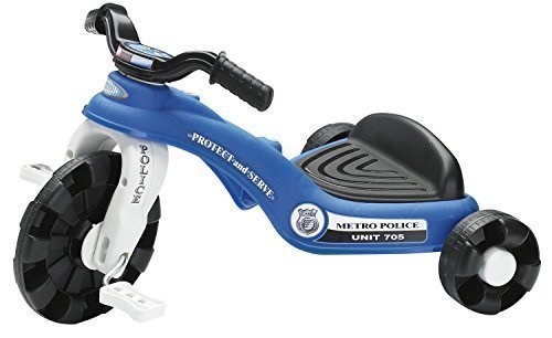 By Broward Toys American Plastic Toys Police Cycle (Mini Trike)