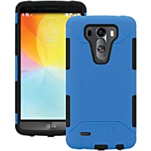 AFCTRIDENT Aegis Series Case for LG G3 - Retail Packaging - Blue
