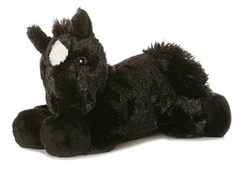 Beau Black Horse Mini Flopsie 8 by Aurora