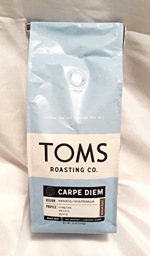 Toms Roasting Co. Coffee 2 - 12 oz Bags (Malawi Ground Coffee)
