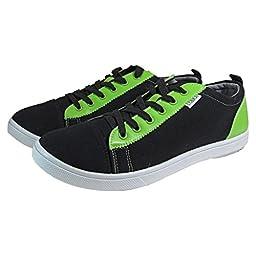 Bowlerstore Womens TCR-E1 Cobra Rental Bowling Shoes (6 M US, Black/Lime Green/White)
