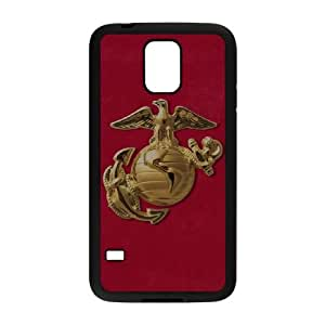 Samsung Galaxy S5 Cell Phone Case Black_Red Faded Eagle Zsbww