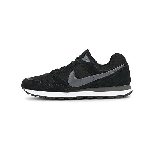 Nike Md Runner Txt 629337 Mens Low Nero (negro Grigio)