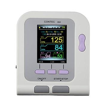 Amazon.com: Contec08A - Monitor digital de presión arterial ...