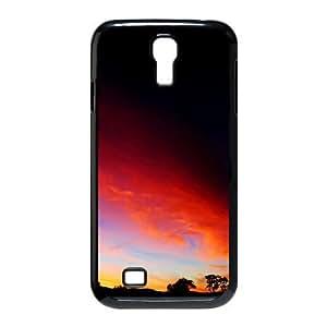 [Nature & Landscape] Atlas Case for Samsung Galaxy S4, Samsung Galaxy S4 Case Elegant for Teen Girls Protective {Black}