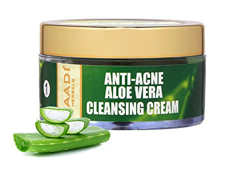 Aloe Vera Cleansing Cream with Grapeseed Extract & Cedarwood
