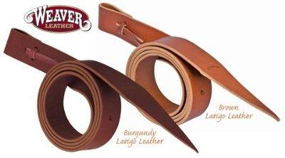 Weaver Leather Latigo Strap with Holes - Size:1 1/2