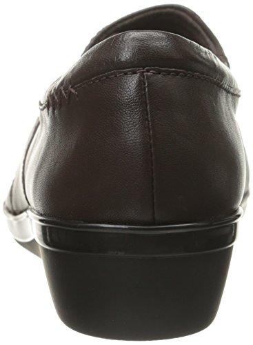 Clarks Everlay Iris plana Brown Leather