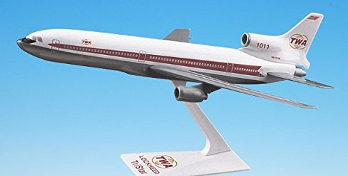 Flight Miniatures TWA Trans World Airlines 1964-1974 Lockheed L-1011 1:250 Scale Display Model with Stand
