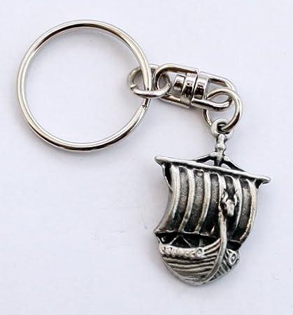 Drakkar Vikingo llavero (llavero) de Hoardersworld, Refinado ...