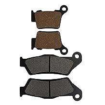 AHL Semi-metallic Front & Rear Brake Pads Set for KTM XC-F/XC-F-W 250 / XC 300 2006-2014