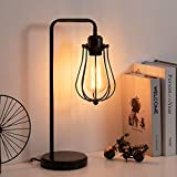 HAITRAL Edison Table Lamp - Industrial Vintage