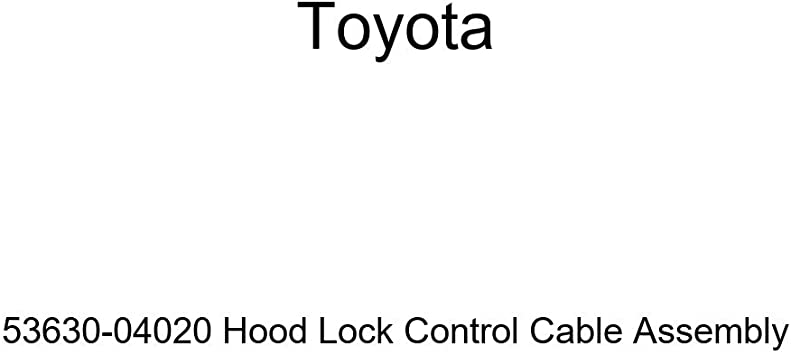 Genuine Toyota Release Cable 53630-04020