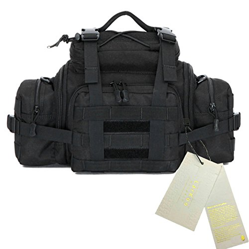 Waterproof 600D Oxford Waist Bag Tactical Molle EDC Outdoor Bag - 9