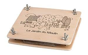 Moulin Roty Le Jardin Flower Press