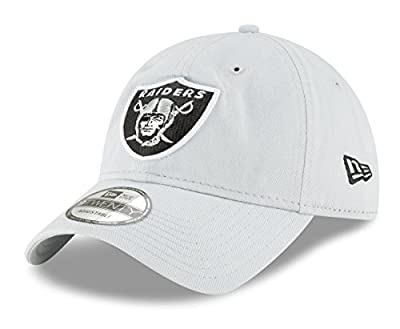 New Era Oakland Raiders NFL 9Twenty Core Classic Secondary Adjustable Hat from New Era