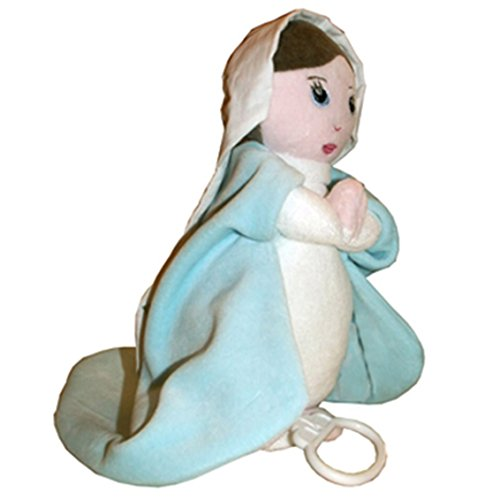 Rassemblement à Son Image Virgin Mary with The Ave Maria Gounod's Lullaby Soft Toy (Doudou Soft Toy)