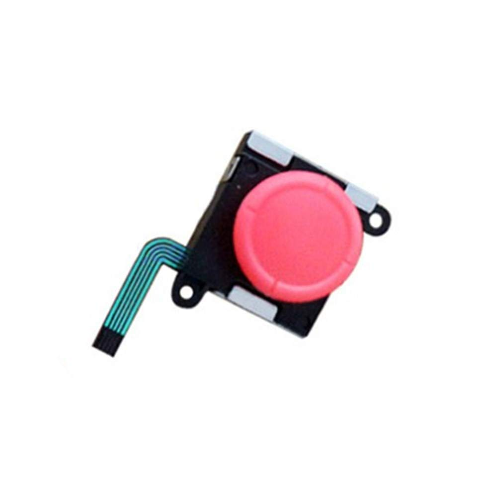 Analog 3D Thumbstick Stick Joystick for Nintendo Switch NS Joy-Con Controller Red by Beracah