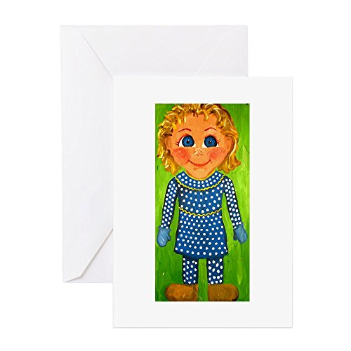 CafePress Mrs. Beasley Greeting Card, Note Card, Birthday Card, Blank Inside Matte