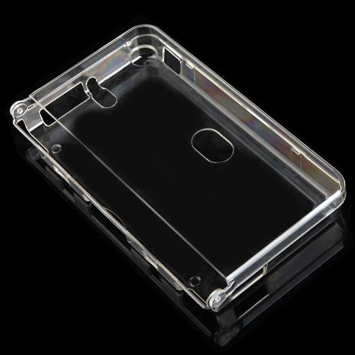 (Kingzer Crystal Clear Hard Shell Case for Nintendo DSi NDSi LL/XL )