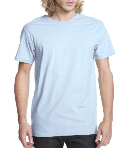 it Extreme Soft Rib Knit Jersey T-Shirt, Light Blue, 2XL ()
