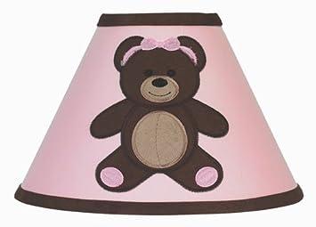 Amazon.com : Sweet Jojo Designs Pink and Chocolate Teddy Bear ...