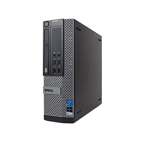 Dell Optiplex 9010 Desktop Computer – Intel Core i7 3.4GHz, 16GB DDR3, 2TB SSD (2X New 1TB SSD), Windows 10 Pro 64-Bit, WiFi, DVD-ROM (Renewed)
