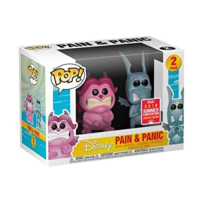 Funko POP! Disney: Hercules Pain and Panic 2 Pack Collectible Figure, Multicolor: Toys & Games
