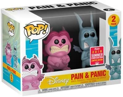 Funko Pop Disney: Hercules-Pain y Panic 2 Pack 2 SDCC: Amazon.es: Hogar