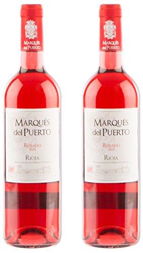 Marqués del Puerto Rosado, spanischer Rioja Roséwein (2 x0,75 l)