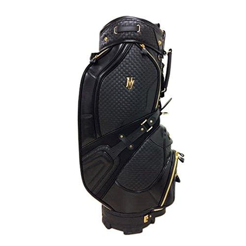 マルマン(MARUMAN) キャディーバッグ MAJESTY マジェスティ キャディバッグ ハイグレードモデル 10.5型 47インチ対応 ブラック CB3725 ブラック サイズ:47インチ対応、口枠10.5型、5.6kg B077N8M2FL