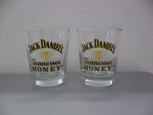 Used, Set of 4 Jack Daniels Tennessee Honey Whiskey Liqueur for sale  Delivered anywhere in USA