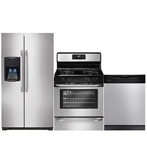 Frigidaire 3-Piece Stainless Steel Kitchen Package with FFHS2622MS 36