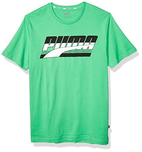 Irish Green - PUMA Men's Rebel Basic TEE, Irish Green, M