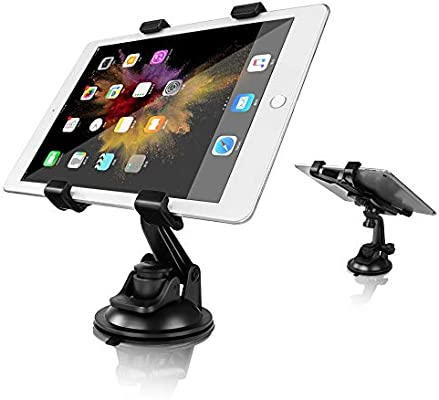 360° Car SUV Windshield Desk Holder Suction Cup Mount Stand For iPad Tablet PC