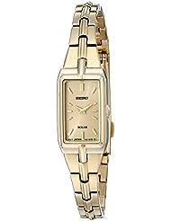 Seiko Womens SUP276 Analog Display Analog Quartz Gold Watch