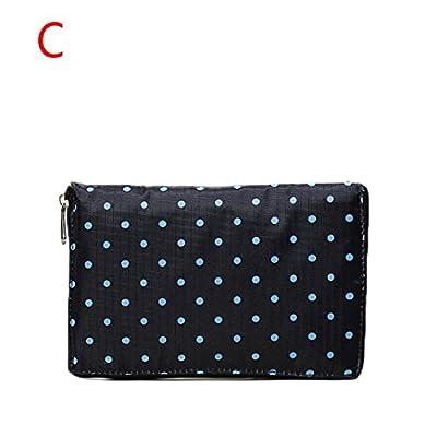 Chartsea Foldable Reusable Nylon Eco Handbag Storage Travel Shopping Tote Grocery Bags
