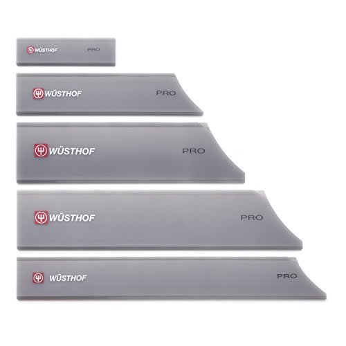 - Wusthof Professional Gray 5 Piece Blade Guard Set