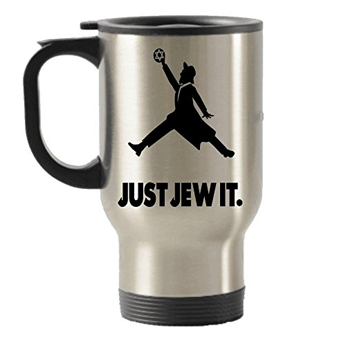 Just Jew It Jewish Gifts idea Stainless Steel Travel Insulated Tumblers Mug