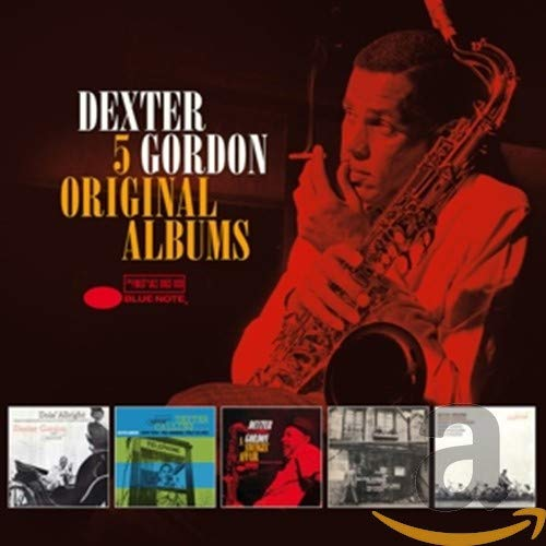 5 Original Albums Dexter Gordon