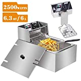 Commercial Deep Fryers with Basket and