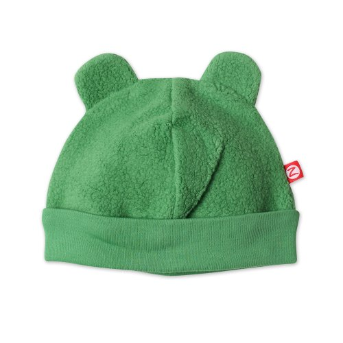 Zutano Unisex Baby Fleece Hat, Apple, 12 Months