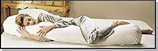 """product image for Teen Bean Body Pillow Recycled Hypo Fill and Pillowcase 4.5 Ft. X 9"""" d"""