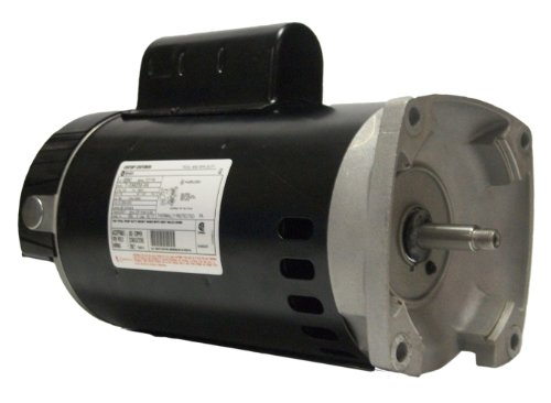 A.O. Smith B2842 1-1/2 HP, 3450 RPM, 9.6-8.8 Amps, 1.47 Service Factor, 56Y Frame, PSC, ODP Enclosure, Square Flange Pool Motor