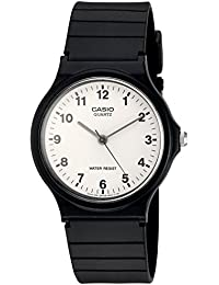 Quartz Resin Casual Watch, Color:Black (Model: MQ24-7B)