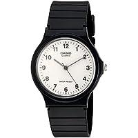 Quartz Resin Casual Watch, Color:Black (Model: MQ24-7B)